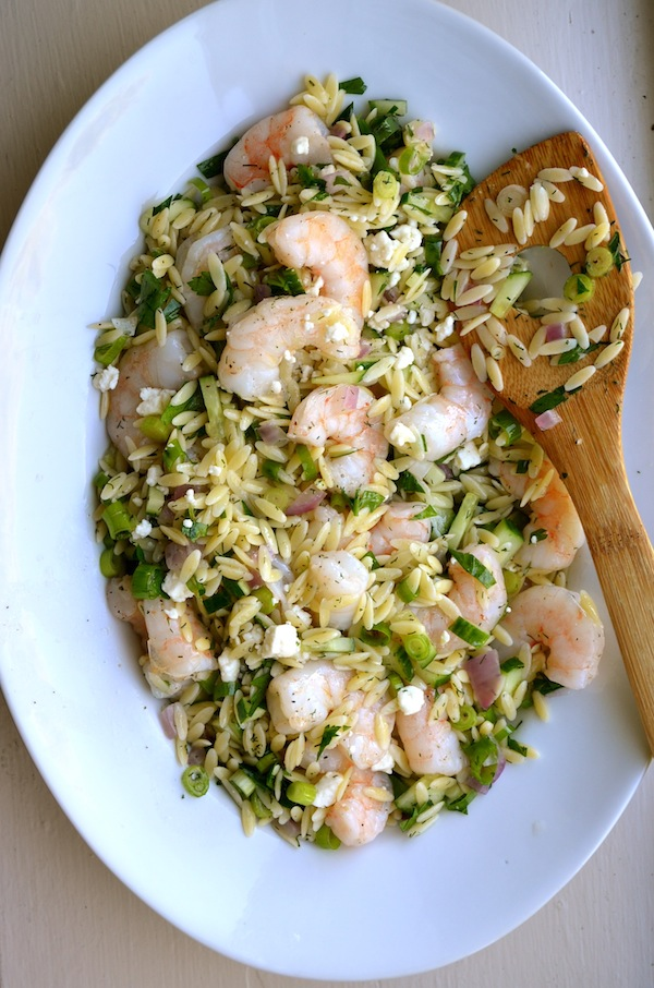 ROASTED SHRIMP & ORZO