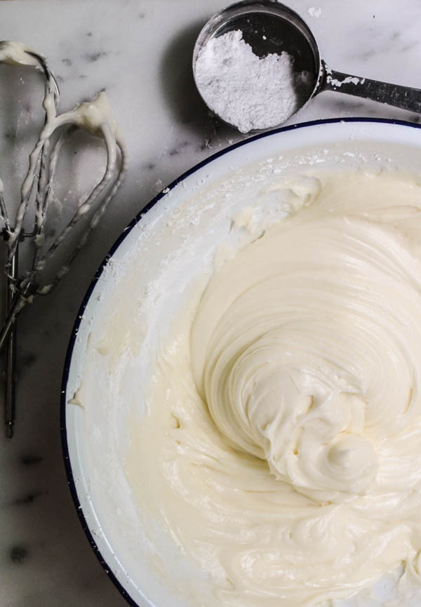 CREAM CHEESE FROSTING from Rachel Schultz