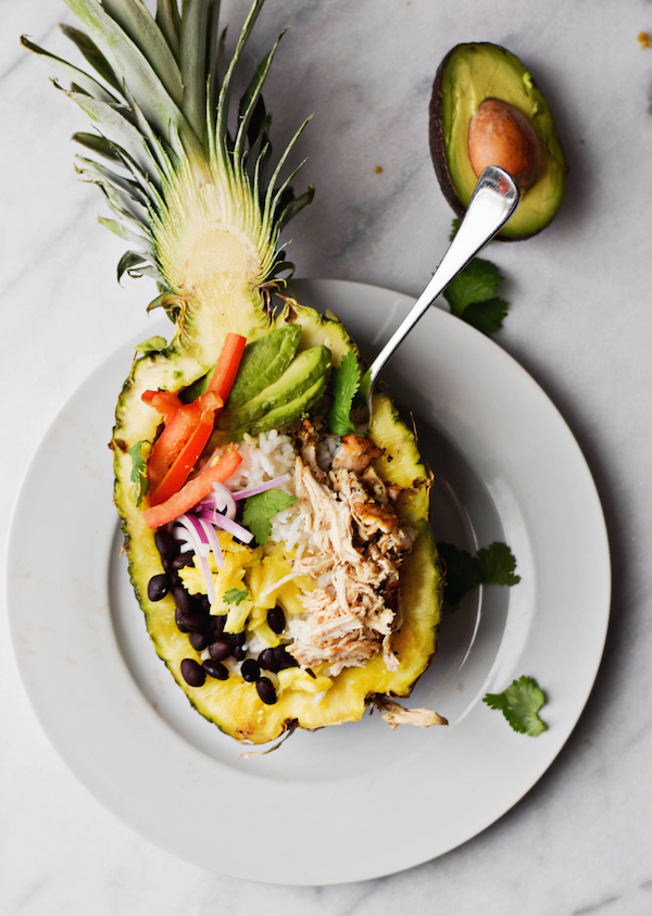 PINEAPPLE RICE BOWLS
