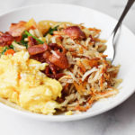 LOADED CRISPY HASH BROWNS