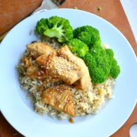 Simple Sesame Chicken from Rachel Schultz
