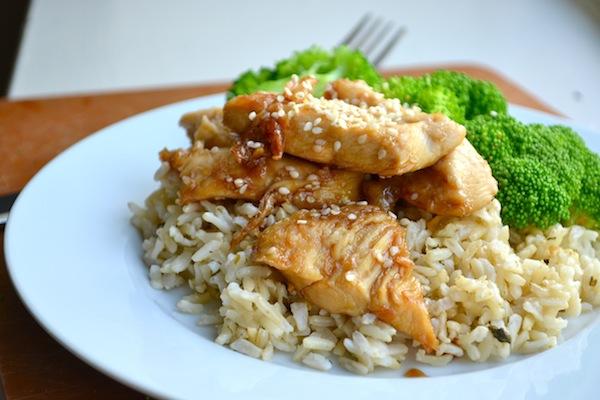 Simple Sesame Chicken from Rachel Schultz