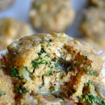 WHOLE WHEAT SPINACH & FETA MUFFINS