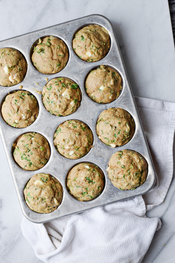WHOLE WHEAT SPINACH & FETA MUFFINS copy