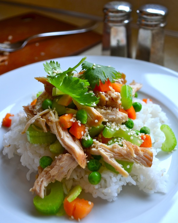 Rachel Schultz: SLOW COOKER TERIYAKI CHICKEN