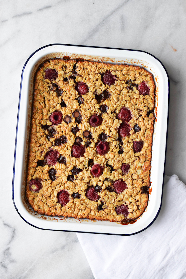 RASPBERRY CHOCOLATE CHIP BAKED OATMEAL-2 copy