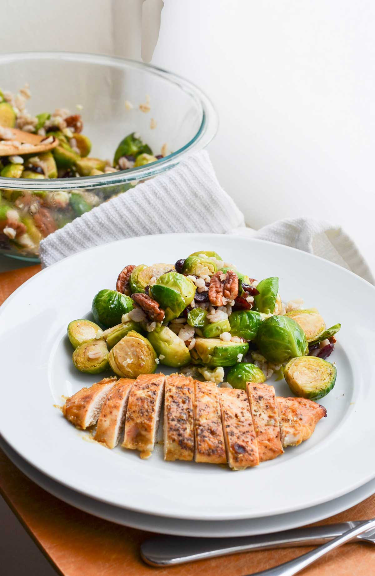 World's Best Chicken with Brussels Sprouts