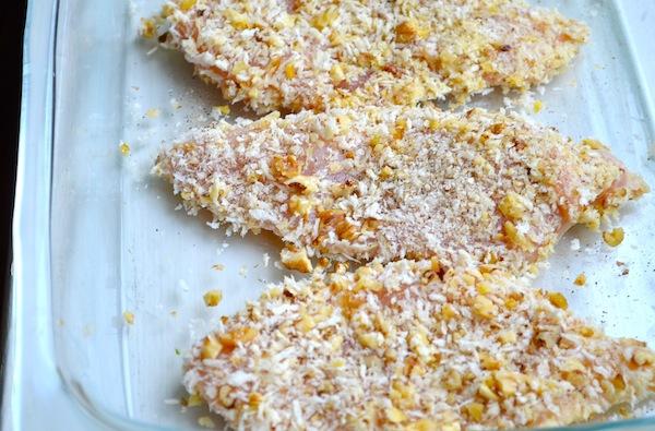 Walnut & Rosemary Oven-Fried Chicken from Rachel Schultz
