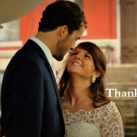 Wedding Thank-You Postcards from Rachel Schultz