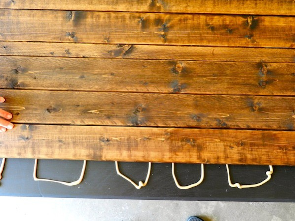 Rustic Coffee Table DIY by Rachel Schultz