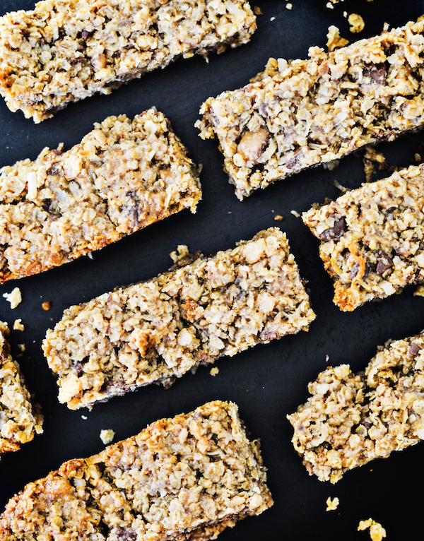 Toffee & Coconut Granola Bars