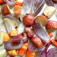 ROASTED FALL VEGETABLES from Rachel Schultz