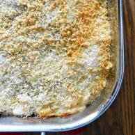 Crab & Gnocchi Gratin Casserole by Rachel Schultz