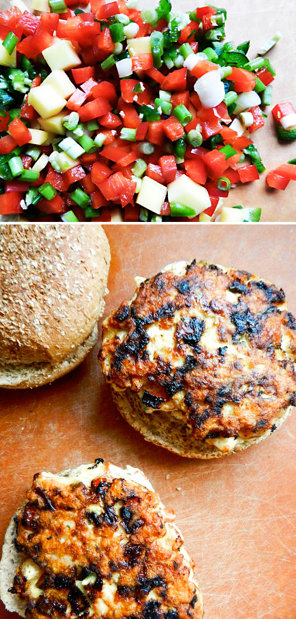 TROPICAL CHICKEN BURGERS from Rachel Schultz 2