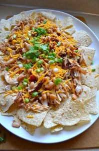 Slow Cooker Chicken Nachos by Rachel Schultz
