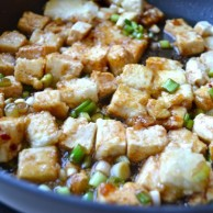 Korean Braised Tofu by Rachel Schultz