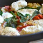 PEPPERONI EGG SKILLET