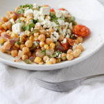 ROASTED VEGETABLE & CHICKPEA SALAD