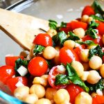 CHICKPEA BRUSCHETTA SALAD