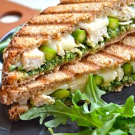 Chicken Pesto Panini by Rachel Schultz