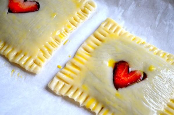 Strawberry & Nutella Homemade Pop-tarts by Rachel Schultz