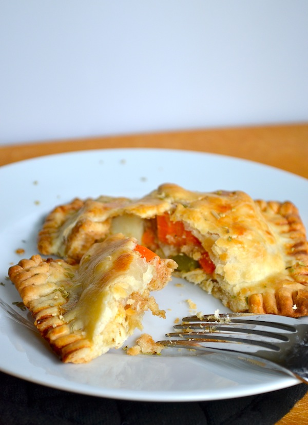 Chicken & Vegetable Hand Pies from Rachel Schultz