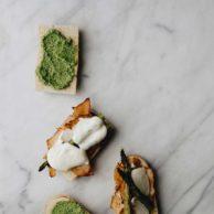 Pesto Asparagus Pesto Sub Sandwich