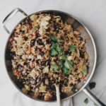 SOUTHWEST BLACK BEAN & CHICKEN RICE SKILLET
