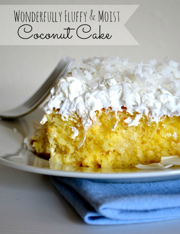Coconut Cake With White Box Mix