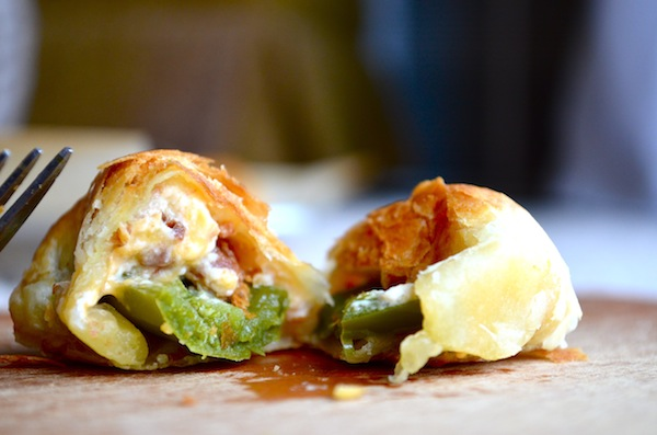 Puff Pastry Jalapeno Poppers by Rachel Schultz