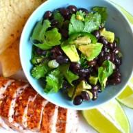 Jalapeno Pork Medallions & Black Bean Salad by Rachel Schultz