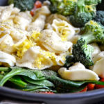 LEMON BUTTER VEGETABLE TORTELLINI