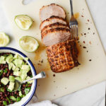 MEXICAN PORK ROAST WITH BLACK BEAN SALAD