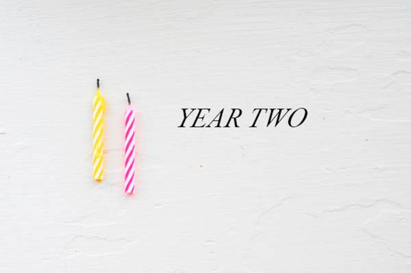 YEAR TWO from Rachel Schultz