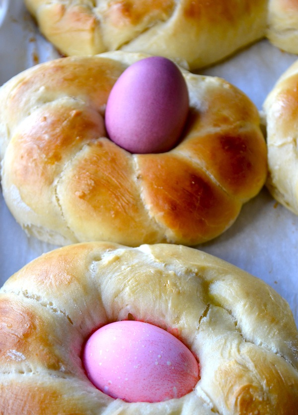 russian easter bread easter bread ring braided easter egg bread recipe ...