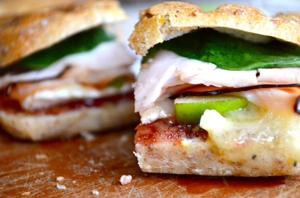 Pear & Brie Cherry Chipotle Panini from Rachel Schultz