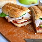 PEAR & BRIE CHERRY CHIPOTLE PANINI