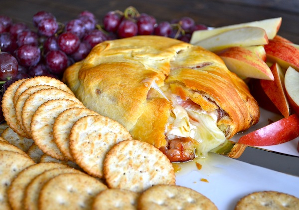Crescent Roll Baked Brie from Rachel Schultz