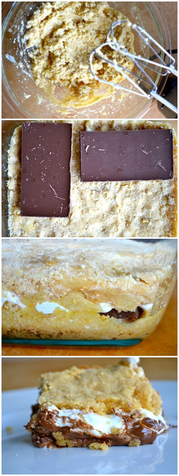 Baked Smores Bars from Rachel Schultz