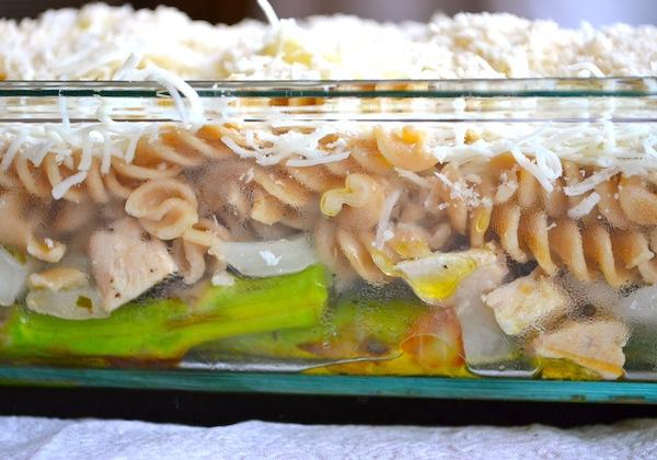 Chicken & Asparagus Mozzarella Casserole from Rachel Schultz