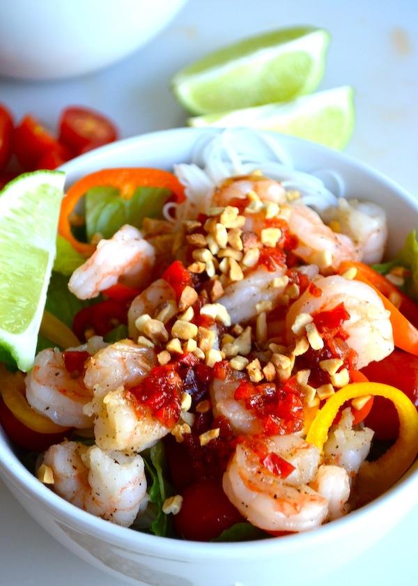 Thai Shrimp Salad from Rachel Schultz