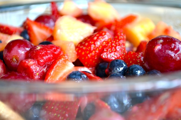Secret Fruit Salad from Rachel Schultz