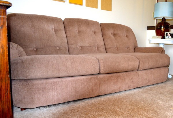 Adding Feet to A Couch from Rachel Schultz