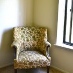 THRIFTING AN ARM CHAIR TO UPHOLSTER