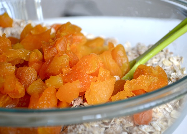 Apricot & Walnut Granola Bars from Rachel Schultz