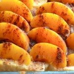 overnight peaches & cream french toast