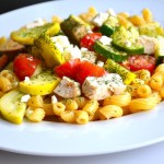 just-right mediterranean pasta salad