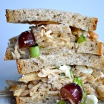 SLIGHTLY SWEET CHICKEN SALAD SANDWICHES