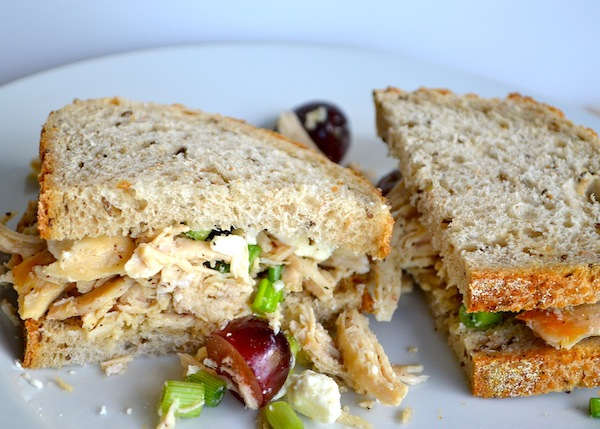 Sweet Chicken Salad Sandwiches from Rachel Schultz