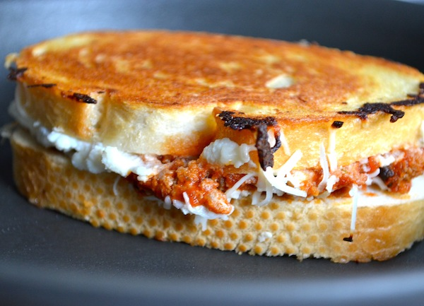 Lasagna Grilled Cheese from Rachel Schultz